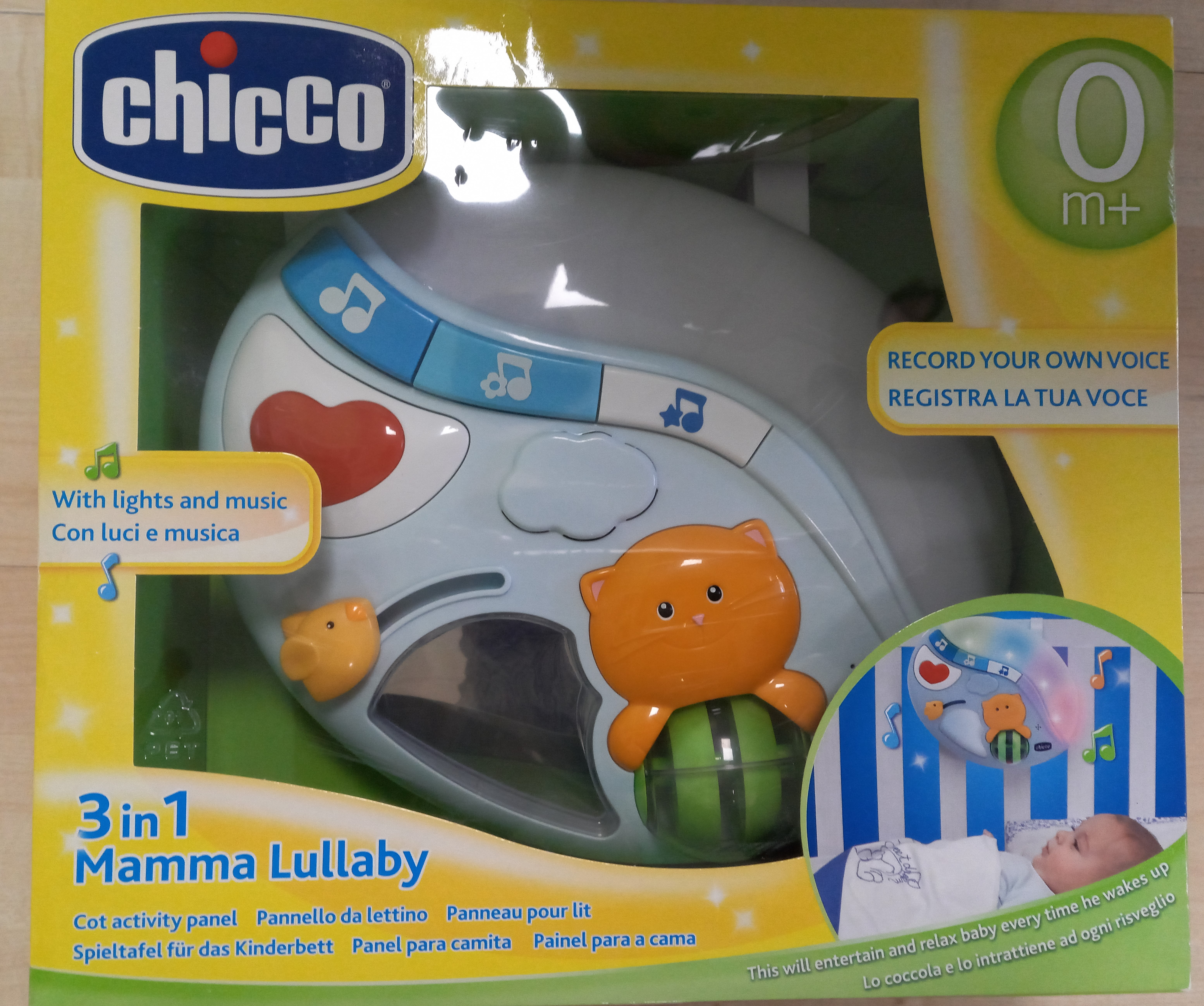3 IN 1 CHICCO LULLABY ANG