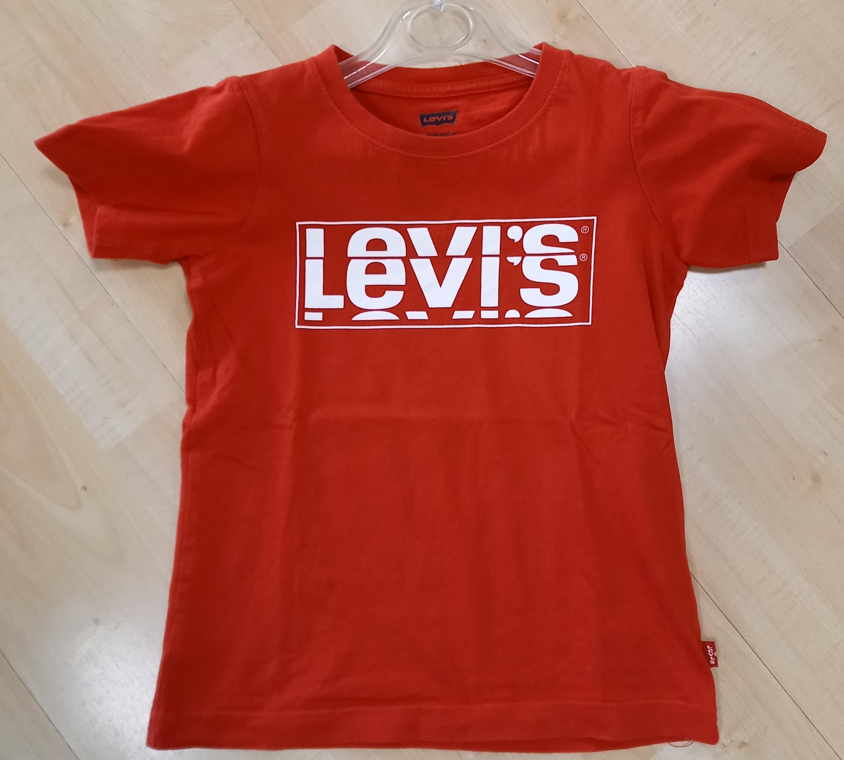 T-SHIRT LEVIS ROSSA